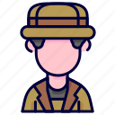 archaeologist, avatar, occupation, professional icon