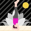 avatar, exercise, headstand, healthy, pose, shirshasana, yoga