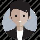 avatar, avatarcon, average, casual, man, profile