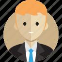 avatar, avatarcon, boss, business, man, person, profile