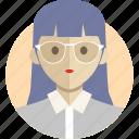 avatar, avatarcon, business, career, person, profile, woman