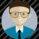 avatar, avatarcon, business, man, person, profile