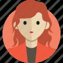 avatar, avatarcon, business, person, profile, woman