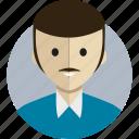 avatar, avatarcon, father, person, profile