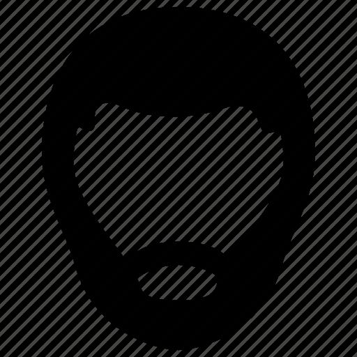 avatar, beard, character, male, man icon