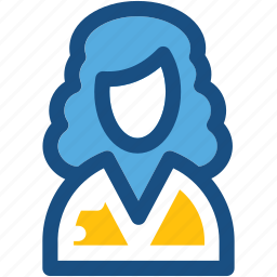 assistant, female anchor, personal assistant, secretary icon