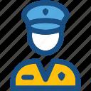 airline pilot, captain, driver, pilot, taxi driver