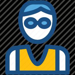 athlete, player, sportsman, sportsperson, young boy icon