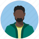 avatar, circle, human, male, man, person, user