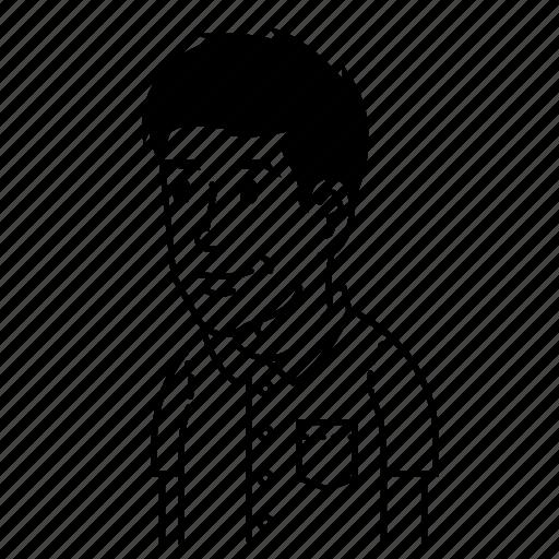 avatar, avatars, boy, happy, male, man, young icon
