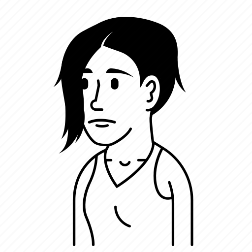 Avatar, avatars, emo, female, girl, sad, woman icon - Download on Iconfinder