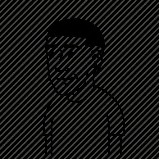 avatar, avatars, boy, male, man, profile, smile icon
