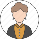adult, avatar, body, mother, people, user, woman icon