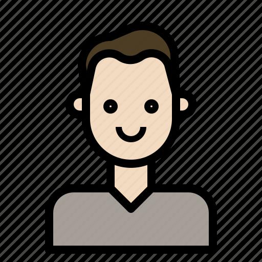 avatar, boy, man, programmer icon