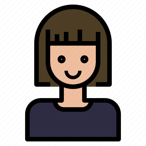 avatar, girl, hair, nerd, short, style icon
