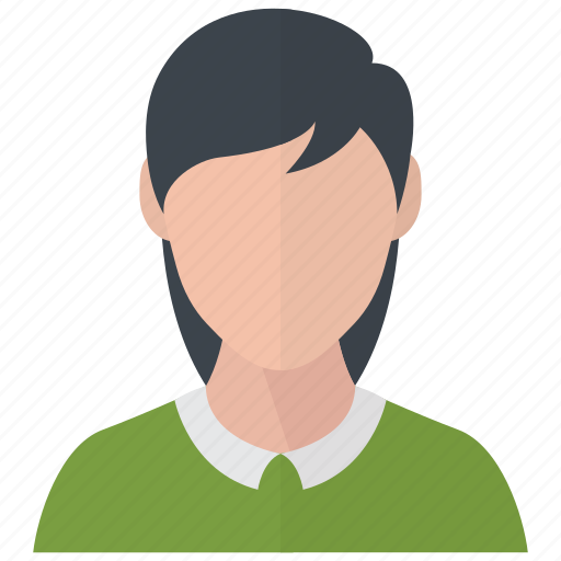 avatar, female, girl icon