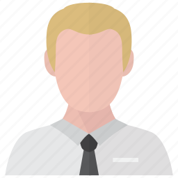 avatar, business, male, profile icon