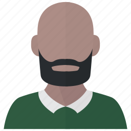 avatar, bald, man, profile icon