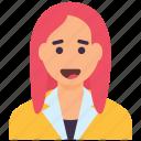 accountant, administrator, clerk, entrepreneur, manager icon