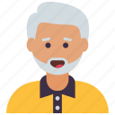 grandfather, old age, old human, old man, old person, senior citizen