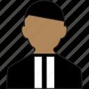 avatar, figure, judge, person