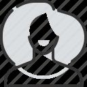avatar, face, female, girl, hair style, smile, woman