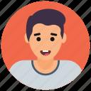 boy avatar, guy, male avatar, schoolboy, youngster icon