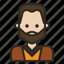 avatar, beard, man, mustache, oldman, style icon