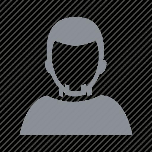 avatar, beard, guy, male, man, people, person, tshirt icon