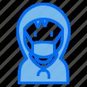 kid, hood, avatar, boy, people, medical, mask