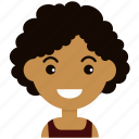 avatar, face, female, girl, man, people, woman icon
