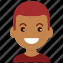 avatar, emoticon, emotion, face, man, people, smiley icon