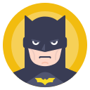 avatar, batman, comics, hero icon