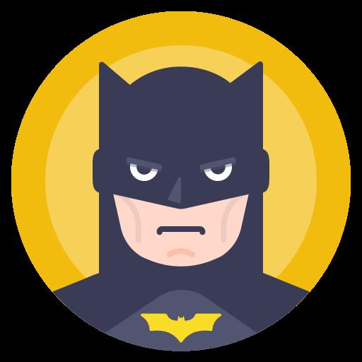 avatar, batman, comics, hero icon