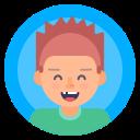 avatar, boy, male, portrait icon
