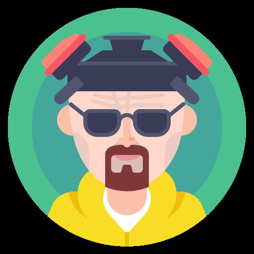 avatar, bad, breaking, chemisrty, heisenberg icon