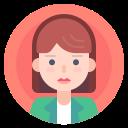 avatar, female, portrait, woman icon
