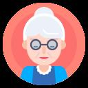 avatar, elderly, grandma, nanny icon