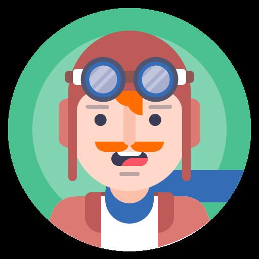 avatar, person, pilot, traveller icon