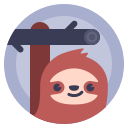 avatar, lazybones, sloth, sluggard icon