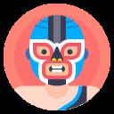 fighter, luchador, man, wrestler icon