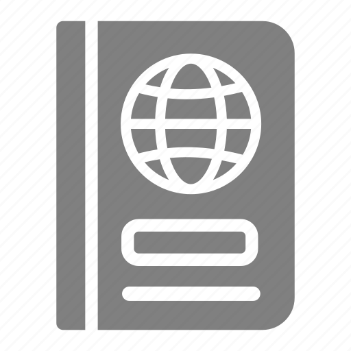 airport, aviation, pasport, pass, travel, visa icon