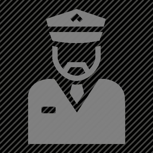 airport, aviation, commander, pilot icon