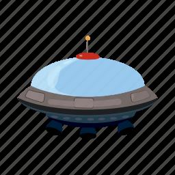 blog, cartoon, flying, saucer, spacecraft, spaceship, ufo icon