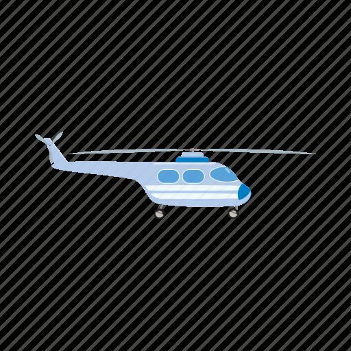 air, blog, blue, cartoon, flight, helicopter, transport icon