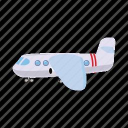 aircraft, airplane, blog, cartoon, fly, light, travel icon