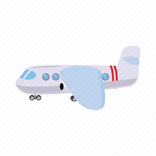 aircraft, airplane, blog, cartoon, fly, light, travel icon