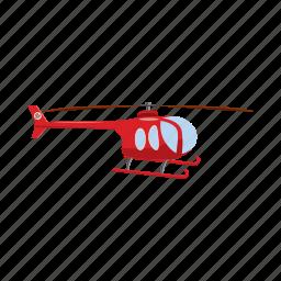 air, blog, cartoon, flight, helicopter, transport, transportation icon