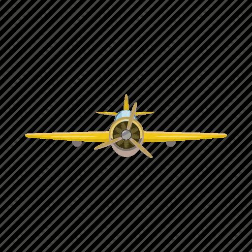 airplane, blog, cartoon, plane, rear, travel, view icon