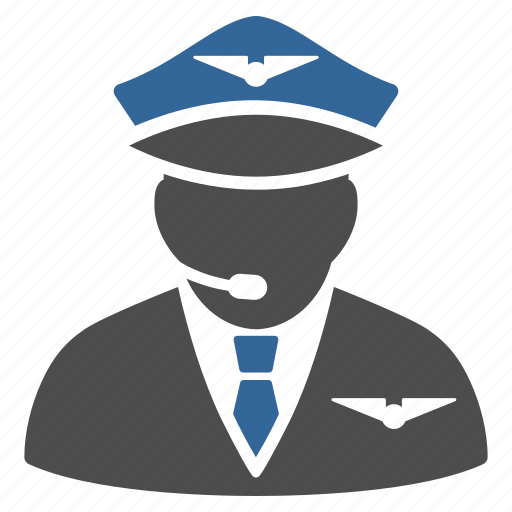 airman, avatar, aviator, captain, crew, navigator, pilot icon
